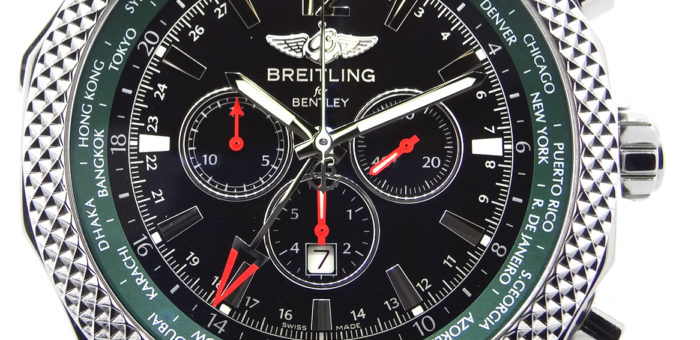 Réplique Breitling Bentley GMT GMT Chronographe Montre Homme A47362S4-B919