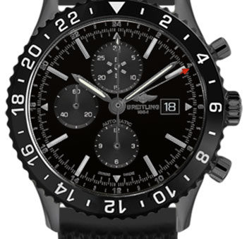 Montre Breitling Chronoliner Blacksteel